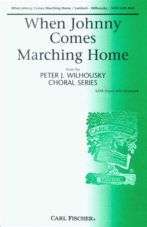 when johnny comes marching home sheet by louis