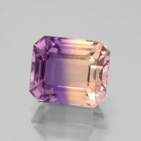 Ametrine 4 65ct ametrine 3 7 carat octagon emerald cut from bolivia