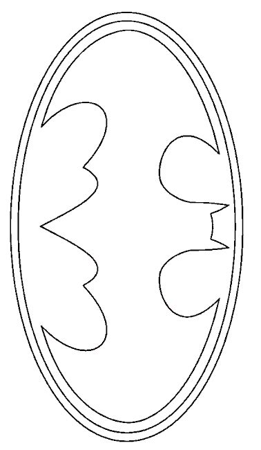 printable batman logo coloring pages free coloring pages of batman logo
