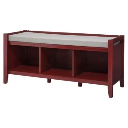 open storage bench 17 best images about red room on pinterest