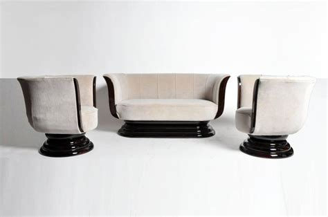 s shaped sofa for two tulip shaped sofa set with two armchairs for sale at 1stdibs