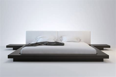 King Size Floor Bed Frame King Size Platform Bed Frame