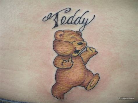 cute teddy bear tattoo designs tattoos and designs page 272