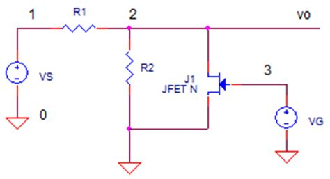 jfet variable resistors