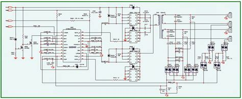 acer lcd monitor schematic diagram acer al1912 monitor