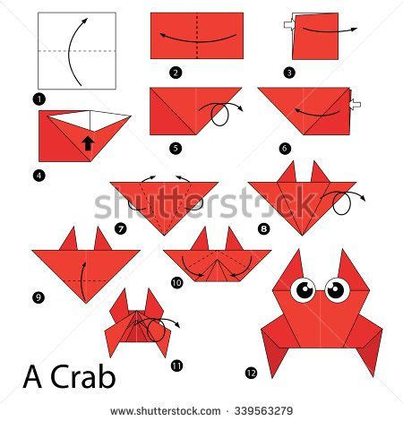 Origami Step By Step - 11 best origami images on origami animals