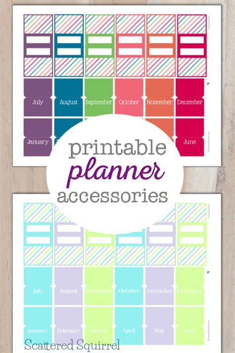 Planner Tabs Printable