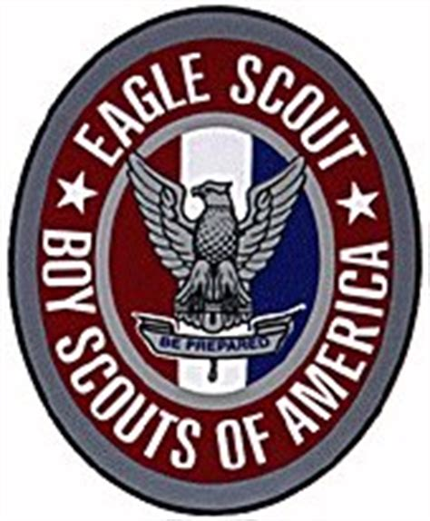 eagle scout insignia wearing the eagle medal