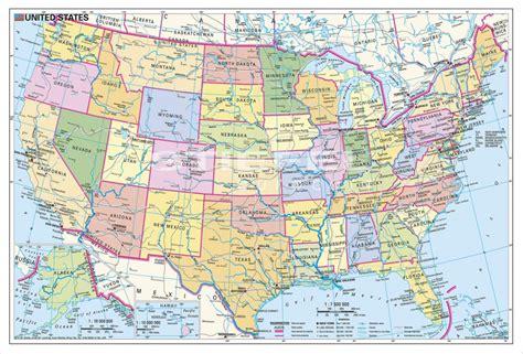 usa mapa fizyczna usa mapa fizyczna polityczna mapy plansze szkolne