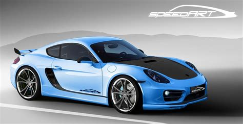 Porsche Cayman Tuning by Speedart Porsche Cayman Sp81 Cr Tuning Kit Car Tuning