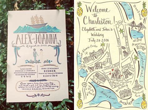 free maps for wedding invitations greet your guests with gusto custom illustrated