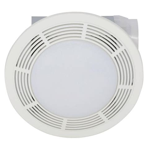 broan ceiling exhaust fan broan 100 cfm ceiling bathroom exhaust bath fan with light