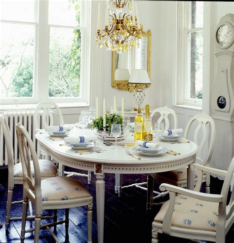 gustavian style decorating gustavian style dining table