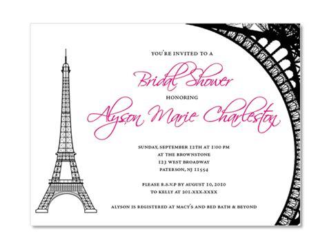 eiffel tower birthday invitations eiffel tower theme custom invitations on luulla