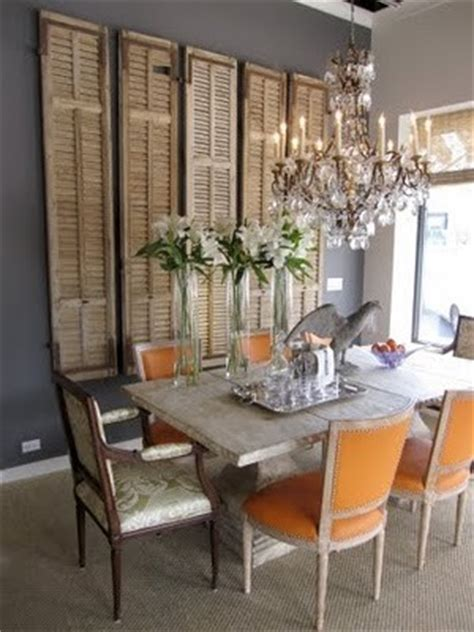 Orange And Grey Dining Room by It S A Linky Makely