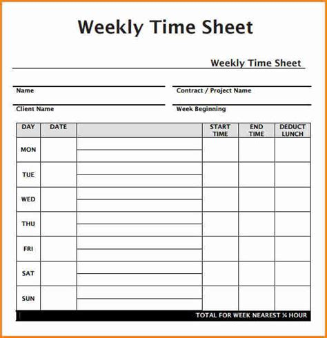 time card invoice template 5 payroll timesheet template simple salary slip