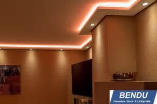 indirekte beleuchtung mit led bendu led stuckleisten f 252 r indirekte beleuchtung