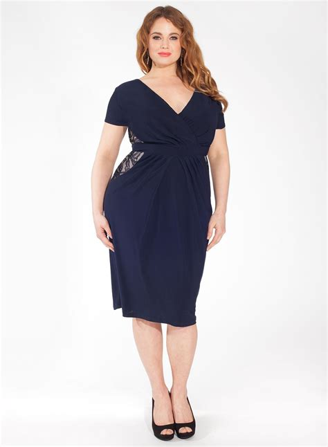 Navy Fashion plus size navy dress 2016 fashion trends fashion gossip