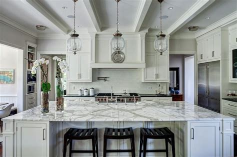 oversized kitchen island oversized kitchen island transitional kitchen andrea