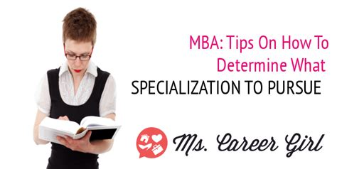 Careers To Pursue With An Mba by Should You Consider A Specialized Mba Degree Ms Career