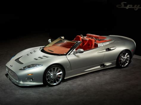 spyder car spyker c8 aileron spyder released