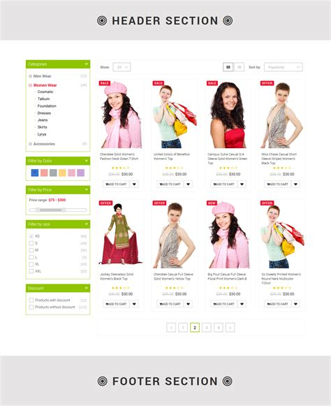 product layout bootstrap plist bootstrap product layout pack by designcollection