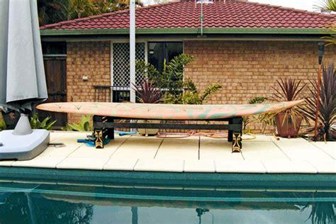 surfboard bench make a surfboard bench australian handyman magazine