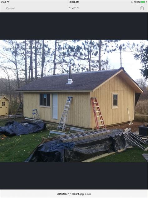 cabin on skids i d like to come back home small cabin forum 1