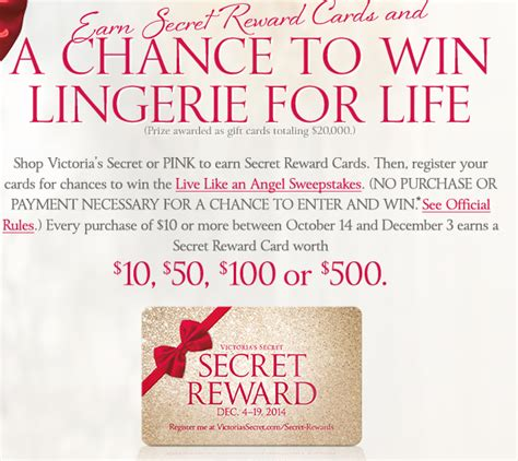 Victoria Secret Sweepstakes - victoria s secret live like an angel sweepstakes over 14 million prizes