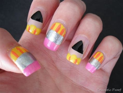 Nail Pencil1 48 best school nail images on school nail ongles and nails