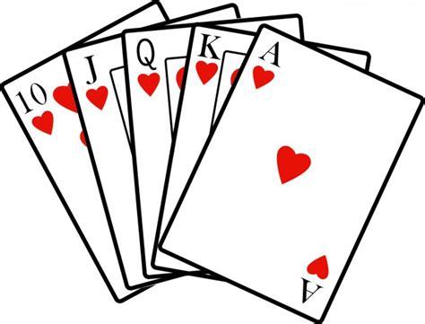 card clipart royal flush clip cliparts co