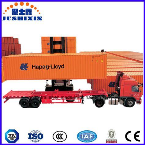 semi truck manufacturers semi trailer manufacturer skeleton container semitrailer