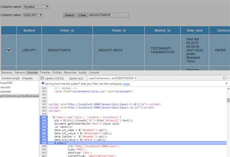 console log jquery exle jquery nodejs and expressjs sending ajax post request is