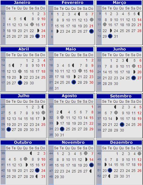 Calendario Da Lua 2015 Calendrio Da Lua 2015 New Calendar Template Site
