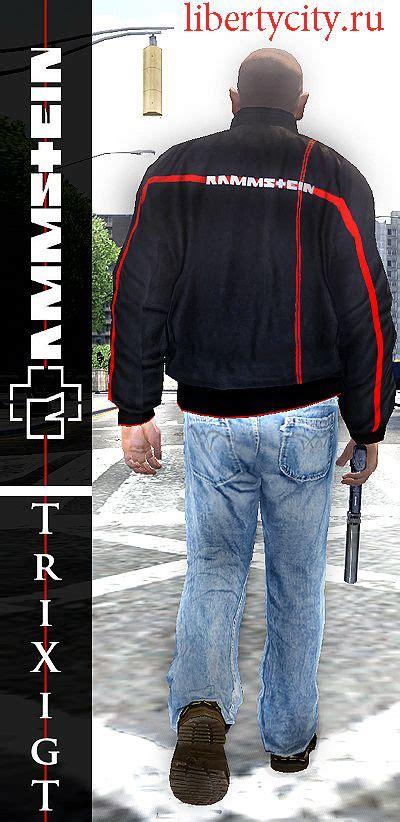 Liberty City Gta Jacket Black rammstein jacket gta 4