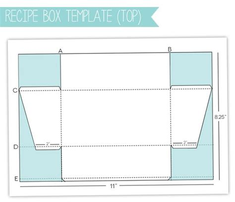 templates for cardstock boxes style watch recipe box gift set damask love