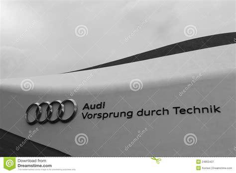 Audi Slogan by Audi Slogan Editorial Photography Image 24853437
