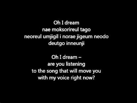 blackpink english lyrics 15 i dream lyrics romanization english youtube