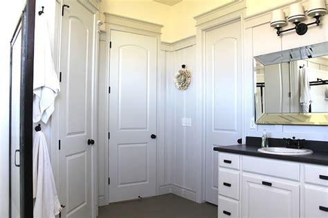 Beveled Bathroom Mirror   Transitional   bathroom   The