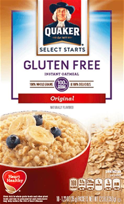 whole grain quaker oats gluten free product cereals quaker gluten free iqo original