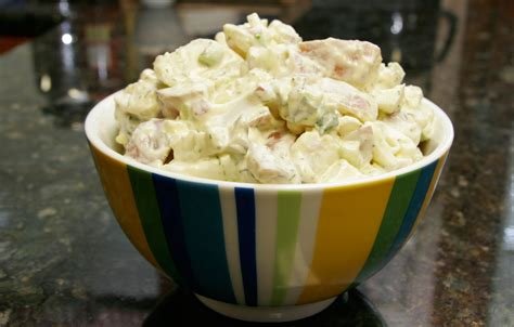 sour cream potato and egg salad recipe