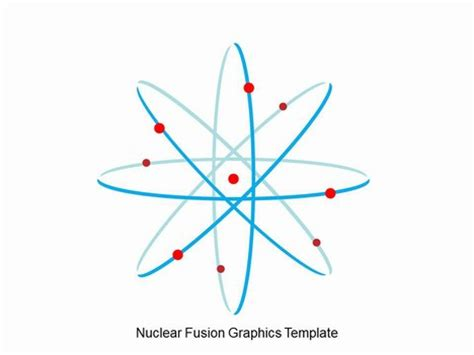 nuclear powerpoint template nuclear fusion graphics template