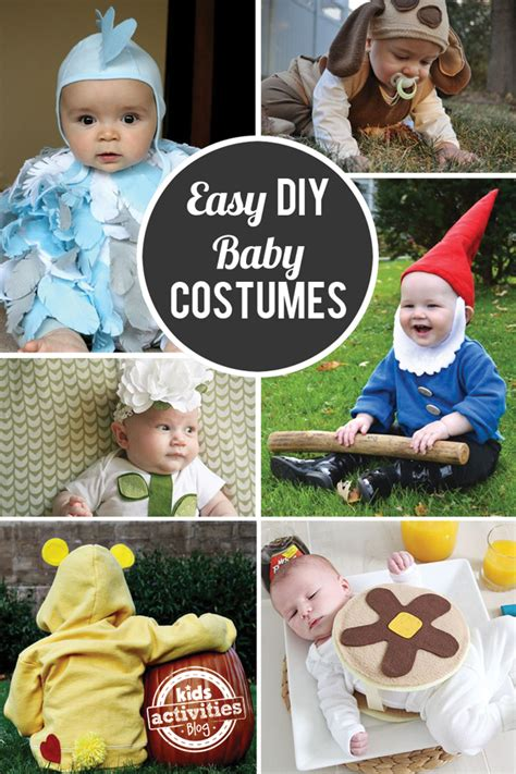 Homemade Halloween Costumes For Mom And Baby