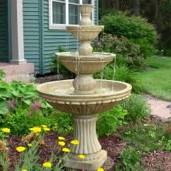 Front Yard Water Fountain - water fountain bird bath bird cages