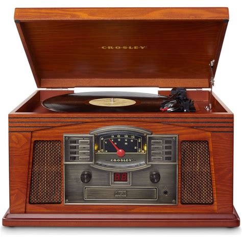 Lancaster Records Crosley Lancaster Retro Record Player Stereo System Buy Record Players