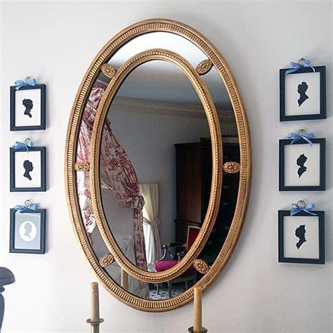 Monticello Oval Mirror