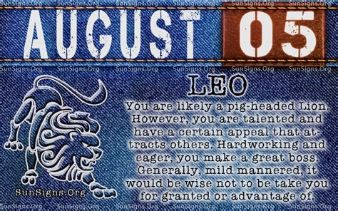 born private meaning august 5 birthday horoscope personality sun signs