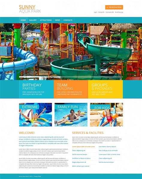 park template entertainment amusement park template theme 49450