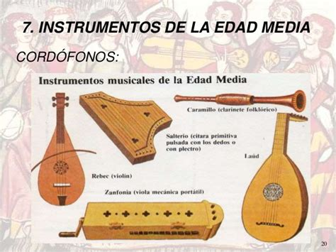 imagenes de instrumentos musicales medievales la m 250 sica profana en la edad media 3 186 g