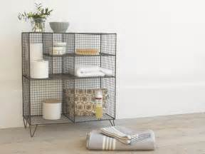 wire bathroom shelving new launch bathroom range from loaf mad about the house